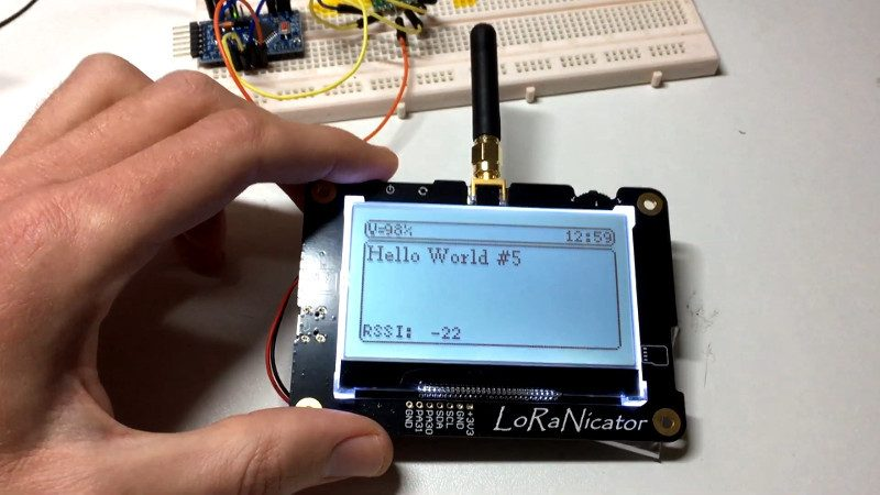 CUSTOM LORA PAGER DESIGNED WITH CARE
