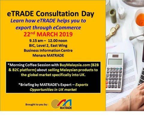 MATRADE: eTRADE Consultation Day