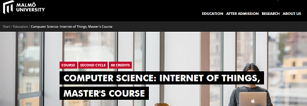 COMPUTER SCIENCE: INTERNET OF THINGS, MASTER'S COURSE