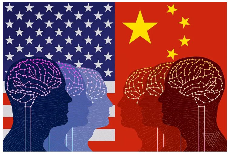 China is about to overtake America in AI research