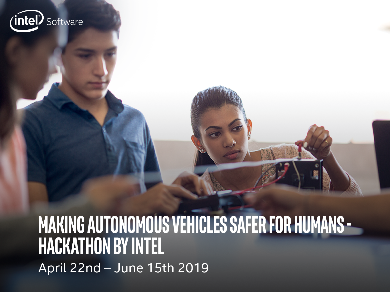 Intel® Launches Deep Learning Hackathon For Its Innovators And Student Ambassadors: Making Autonomous Vehicles Safer For Humans