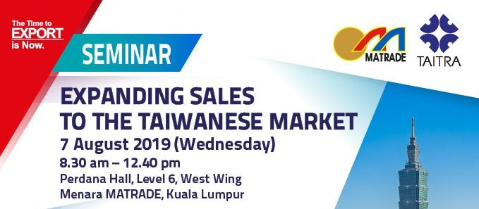 "Seminar on ""Expanding Sales to Taiwanese Market"""