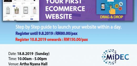 Build Own e-Commerce Website (18.8.2019)