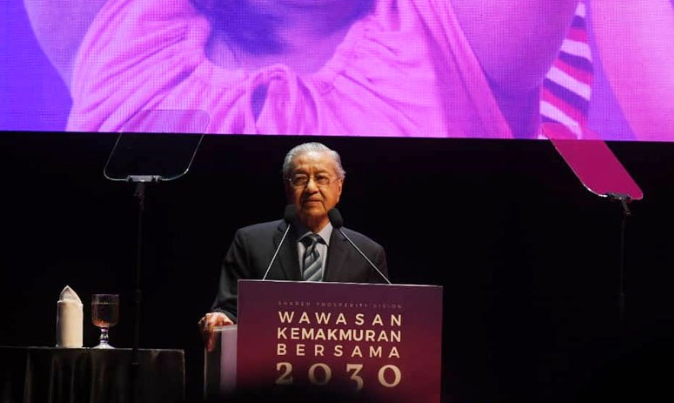Dr M launches Shared Prosperity Vision, says it's time for 'next step'