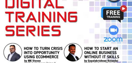 Digital Training Series – Live Webinar : 21 & 22 April 2020 – DONE