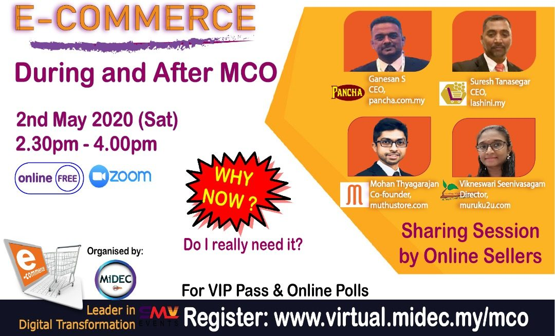 E-Commerce, During and After MCO – Forum: 2 May 2020 – DONE