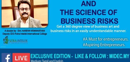 The ART OF BUSINESS AND THE SCIENCE OF BUSINESS RISKS