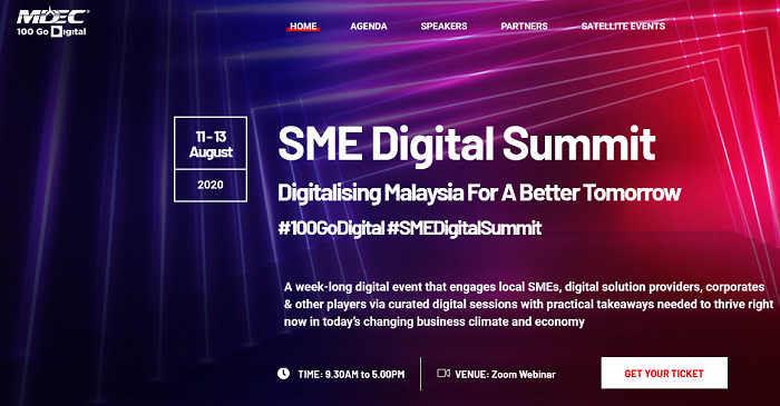 MDEC launches inaugural SME Digital Summit to unleash Malaysian SMEs into ASEAN's US$300bil internet economy
