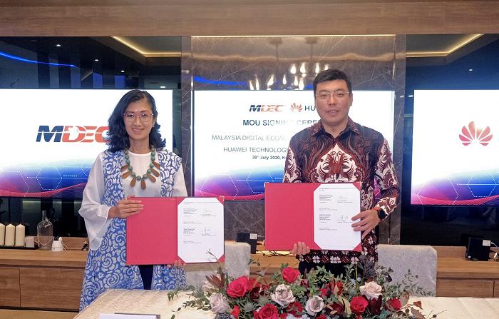 MDEC, Huawei Sign MoU to spearhead Malaysia as ASEAN Digital Hub