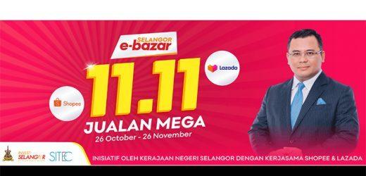 Selangor allocates vouchers worth RM2m for e-bazaar 11.11 Mega Sales campaign